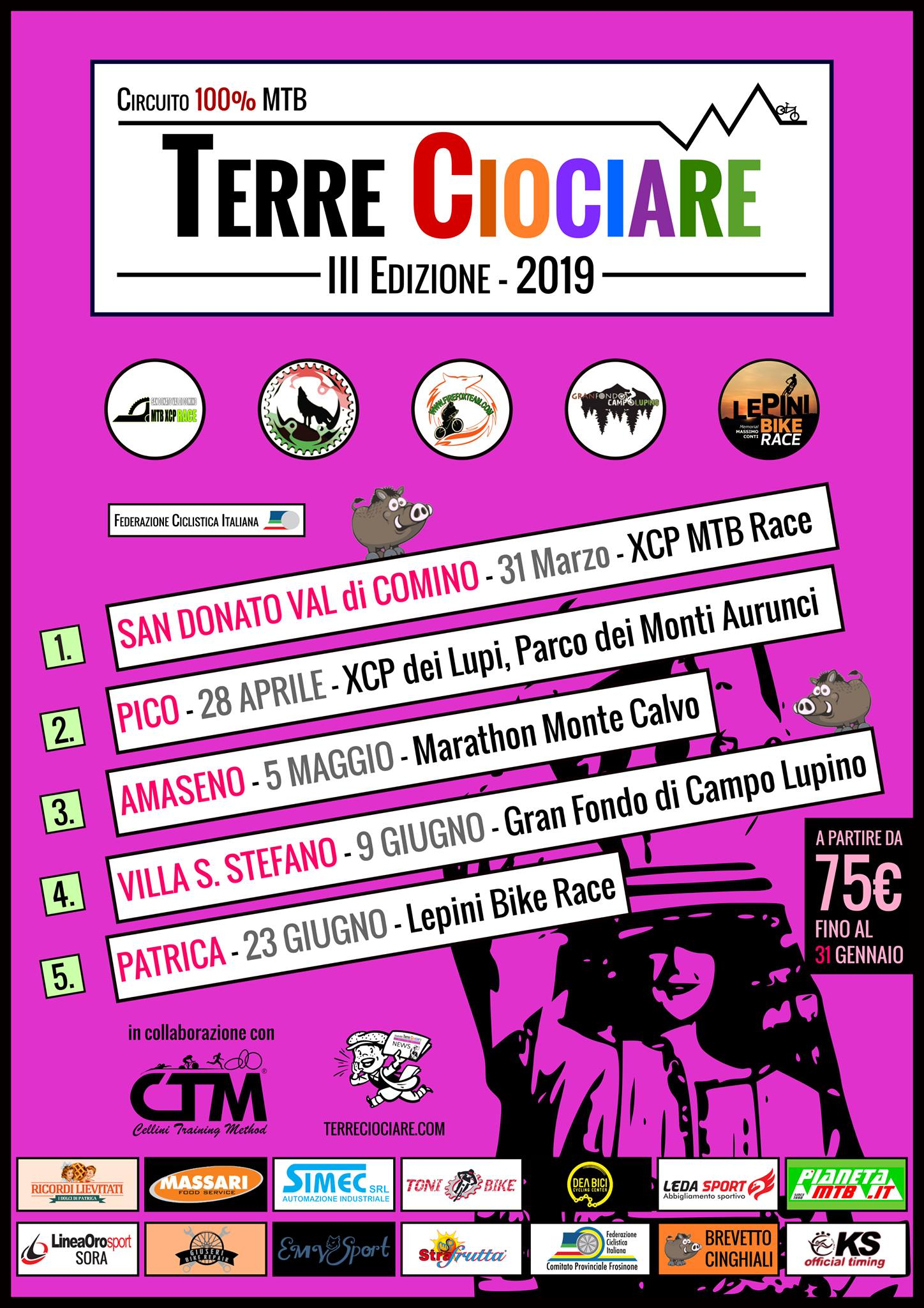 San Donato Val di Comino MTB XCP Race